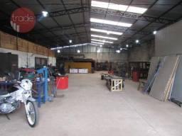 Galpão à venda, 780 m² por r$ 600.000 - vila brasil - ribeirão preto/sp