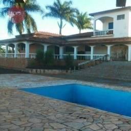 Chácara com 5 dormitórios para alugar, 48000 m² por r$ 10.000/mês - centro - jurucê/sp