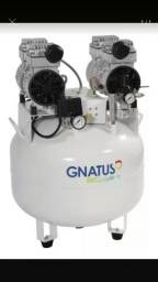 Compressor 65 litros Gnatus. Novo na caixa