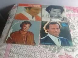 Discos de Vinil Julio Iglesias 4 discos