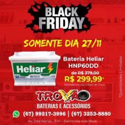 Bateria Heliar 60 ah 299,99 Black Friday