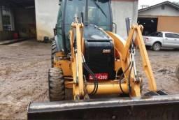 Case 580n 4x4 Cabinada