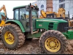 Trator Agricola John Deere 6145j 4x4 2014 *19.550 Hs Repasse
