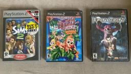 Lote de Jogos originais PS2