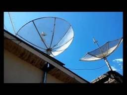 Instalações, apontamento, reparos, Antena Sky, Claro, Oi, digital
