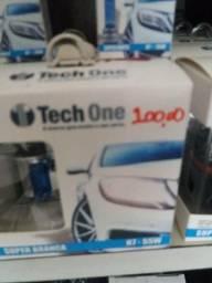 Lâmpada super branca h7 tech one
