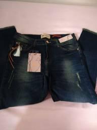 Calça handara jeans com Lycra número 42