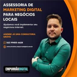 Marketing Digital - Negócios Locais<br>Google Ads - Facebook Ads