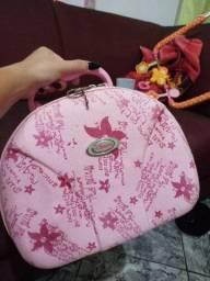 Frasqueira rosa