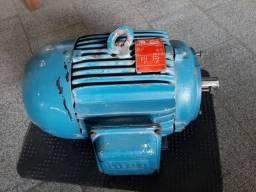 Motor 7,5 cv  WEG trifásico 220/380v 3480rpm