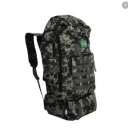 Mochila Militar Camuflada Ótimo para Camping Escolar Viagens