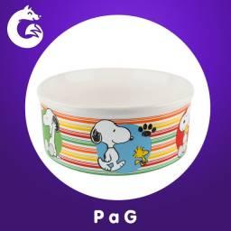 Comedouro Cerâmica Snoopy I