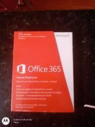 Office 365 Home Premium Chave de licença para 5 PCs ou Macs por 1 ano