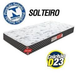 269,00 Colchão Solteiro D23 NOVO - Frete Grátis