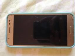 2 celulares J5 e Gran prime