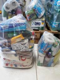 Vendo cestas básica completa por 160 com 28itens