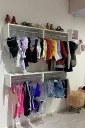 Arara para lojas e closet 04 unidades -Promocionais-