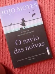 """Livro """"o navio das noivas"""" de Jojo Moyes"""