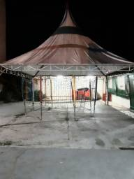 Tenda 6x6 metros (aberto a negócios)