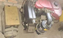 Gerador a diesel completo estado de novo