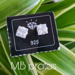 Brincos de prata 925