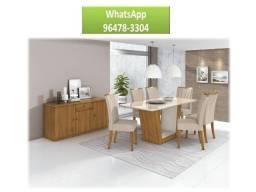 9647//83304 Wpp -Mesa Apogeu 6 cadeiras