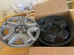 Roda Fiat toro original kit 4 rodas c/ calota