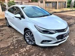 Chevrolet Cruze Sedan 1.4 LTZ 2017 Branco Flex zerado / tro.co e financio