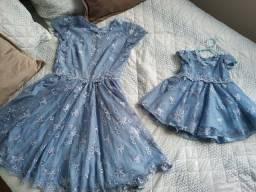 Vestido festa Mãe e Filha
