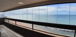 AL120 Apartamento 4 Suítes, 02 Varandas, 6 Wc, 4 Vagas, 335 m², Beira Mar de Boa Viagem
