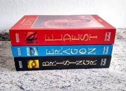 Livros Eldest, Eragon e Brisinger