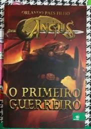 Título do anúncio: Angus: O primeiro guerreiro. Livro um - Orlando Paes Filho