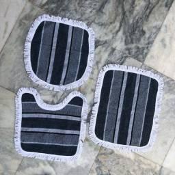 Jogo de banheiro Artesanal - 3 peças