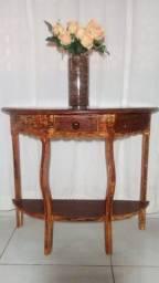 Mesa de madeira jatobá em ótimo estado