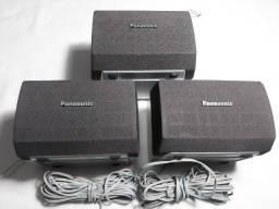 3 Caixas Satelites Home Panasonic SB-PS90