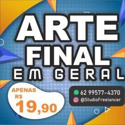 Arte Final - Apenas R$ 19,90 - Promoção da Semana