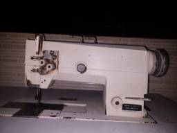 Máquina costura chapadeira 2 agulhas