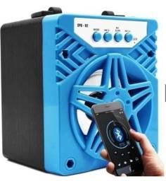 Caixa de Som Portátil sem Fio Bluetooth para MP3 Player / Cartão SD/TF / Rádio FM / Pen
