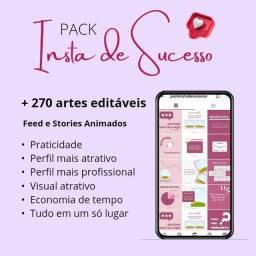 Promoção- Pack Feed harmônico Instagram