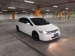 New Civic 2007 Flex automático Financio e Aceito trocas