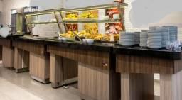 Título do anúncio: buffet quente e frio completo Krasinox