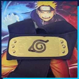 Título do anúncio: Bandana Naruto Logo Vila Da Folha
