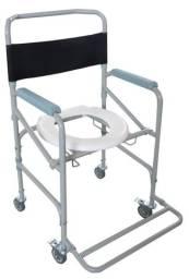 Título do anúncio: Cadeira de banho dobrável até 100 kg NOVA