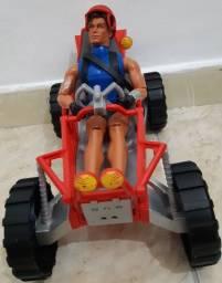 Brinquedos originais da marca Max Steel novos!!