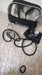 kit Esfigmomanômetro + Estetoscópio