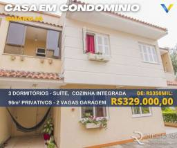 Título do anúncio: Casa de condomínio para venda com 96m² com 3 quartos, 2 vagas à venda no bairro Guarujá Po