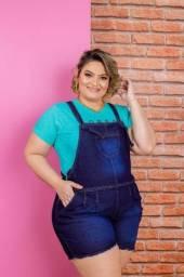 Título do anúncio: Jardinheira Jeans 44 ao 50
