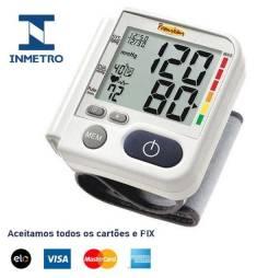 Medidor de pressão de pulso, tenha produtos com selo Inmetro, originais