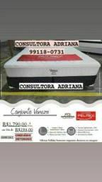 Título do anúncio: CAMA CONJUNTO VENEZA- ENTREGA GRÁTIS