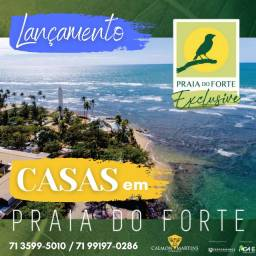 Bangalôs 136m² condomínio fechado, Praia do Forte Exclusive